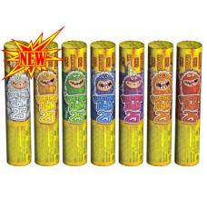 Фонтан пиротехнический Цветной дым 25