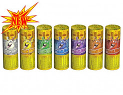 Фонтан пиротехнический Цветной дым 40