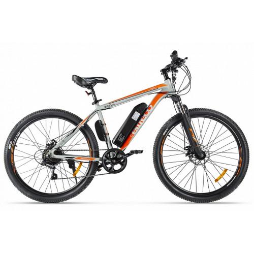 Велогибрид Eltreco XT 600 серо-оранжевый