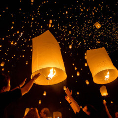 Небесные фонарики. История появления.